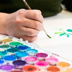 Wine & Workshop: Watercolor with Jenny Davidson