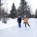Echo Valley Snowshoe & Skate the Park