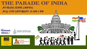The Parade of India