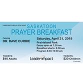 Saskatoon Prayer Breakfast