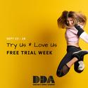Try us * Love us FREE TRIAL DANCE WEEK (Sept 23-28)