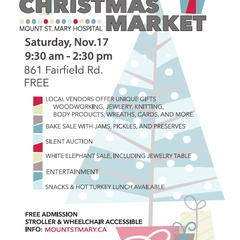 Christmas Market at Mount St. Mary Hospital