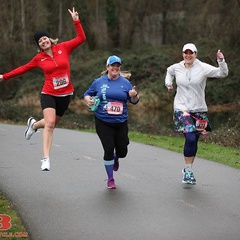 The Rain Run Half Marathon