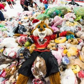Calgary Hitmen Teddy Bear Toss