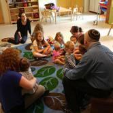 Tots Welcoming Shabbat