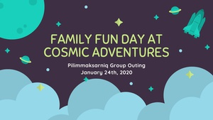 Family Fun Day at Cosmic Adventures