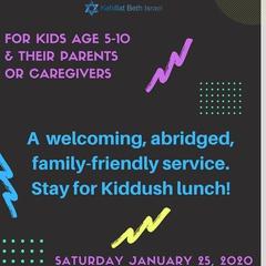 Family Shabbat Service
