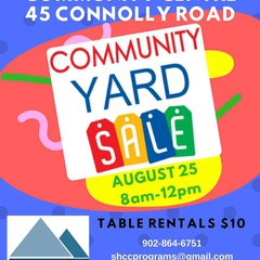 Community Yard Sale at Sackville Heights Community Centre