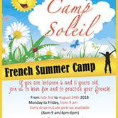 Camp Soleil : French Summer Camp