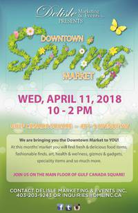 Downtown Spring Market