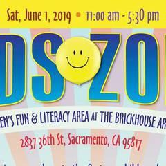 2019 Kids Zone @ the Sacramento Black Book Fair