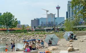 5 Calgary-Area Beaches Perfect for Kids