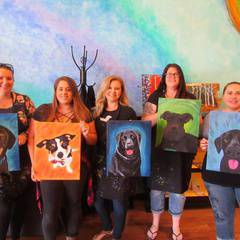 Paint and Sip~ Paint your Pet!