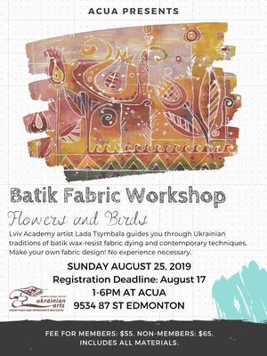 Batik Fabric Workshop