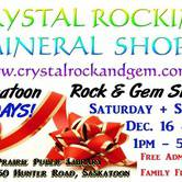 Saskatoon Rock & Gem Show and Sale