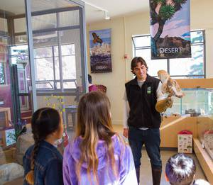 Meet the Animal Keeper - Live Animal Presentations