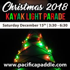 Annual Christmas Lights Paddling Parade & Potluck