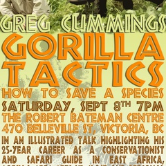 Greg Cummings – Gorilla Tactics 'How to Save a Species'