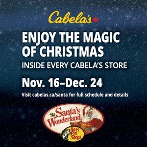 Santa's Wonderland: Cabela's Edmonton South