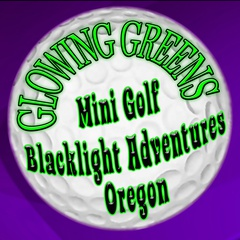 Glowing Greens Black Light Miniature Golf