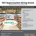 T&T Hiring Event by JVS Toronto