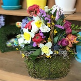 Floral Easter Basket Class