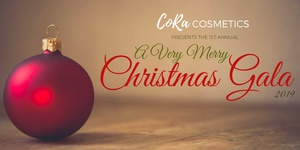 2019 A Very Merry Christmas Gala presented by Cora Cosmetics