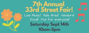 7th Annual 33rd Street Fair!