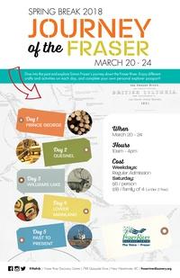 SPRING BREAK at FRDC: Kids can Journey Through the Fraser during Spring Break!