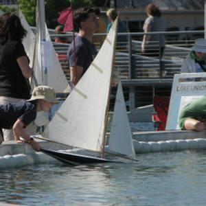 Pond Boat Sailing