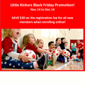 Little Kickers East Hamilton's promotion image