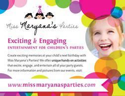 Miss Maryana's Parties