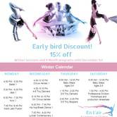 En L'air Academy Free Open House classes! -Ballet, Jazz, Hip hop, Circus Aerials, and more!