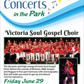 Free Summer Concerts in the Park: Victoria Soul Gospel Choir