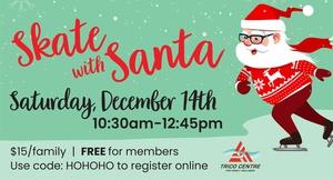 Trico Centre Skate with Santa