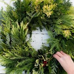 Evergreen Outdoor Wreath