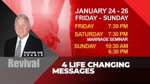 Guest Speaker Fam/Friends Seminars (including Marriage Seminar) Event