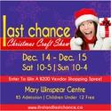 Last Chance Christmas Craft Show 2019