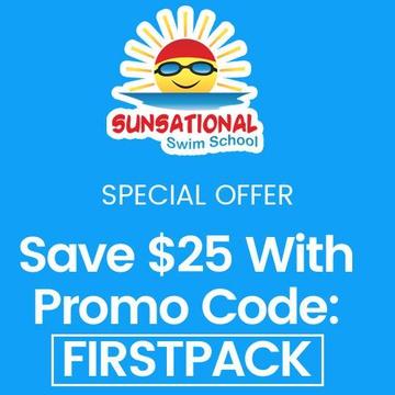 Sunsational Swim School - Home Swim Lessons's promotion image