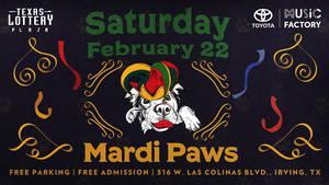 Mardi Paws on Texas Lottery® Plaza