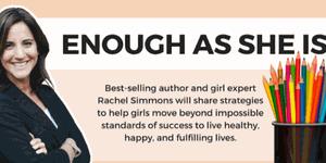 RACHEL SIMMONS   ENOUGH AS SHE IS