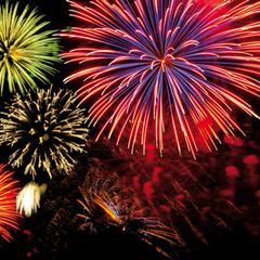 Texas Fireworks Dia de los Muertos Celebation
