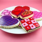 Valentine's Cards, Crafts and Cookies