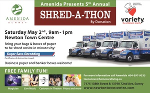 A Charitable & Entertaining Way To Shred Your Papers in Surrey, BC