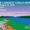 World's Longest Chalk Mural
