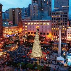 30th Annual Christmas Tree Lighting at Union Square