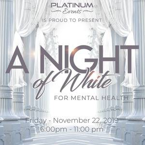 A Night of White for Mental Health