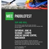 MEC Vancouver Paddlefest 2018