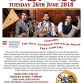 Cobario - The New Austrian Sound of Music  *Free Concert