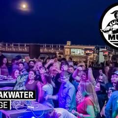 DJ Murge on the Breakwater Barge